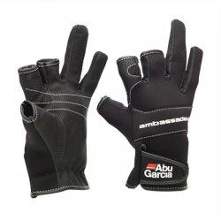 Abu Garcia Neopreen Handschoenen | Maat L