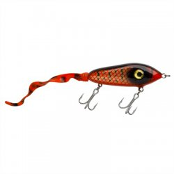 Abu Garcia Svartzonker McMy Tail | Jerkbait | Red/Black | 22cm