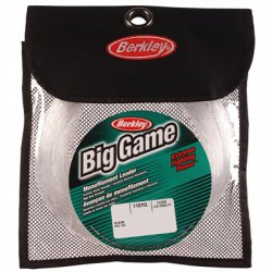 Berkley Big Game Mono Leader | 400Lb | 2.00mm | 100m