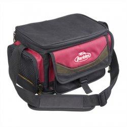 Berkley System Bag | Rood/Zwart | Inclusief 4 boxen | Small