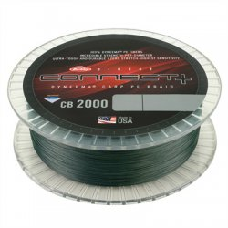 Berkley Direct Connect CB2000 | Moss Green | Dyneema | 0.25mm | 900m